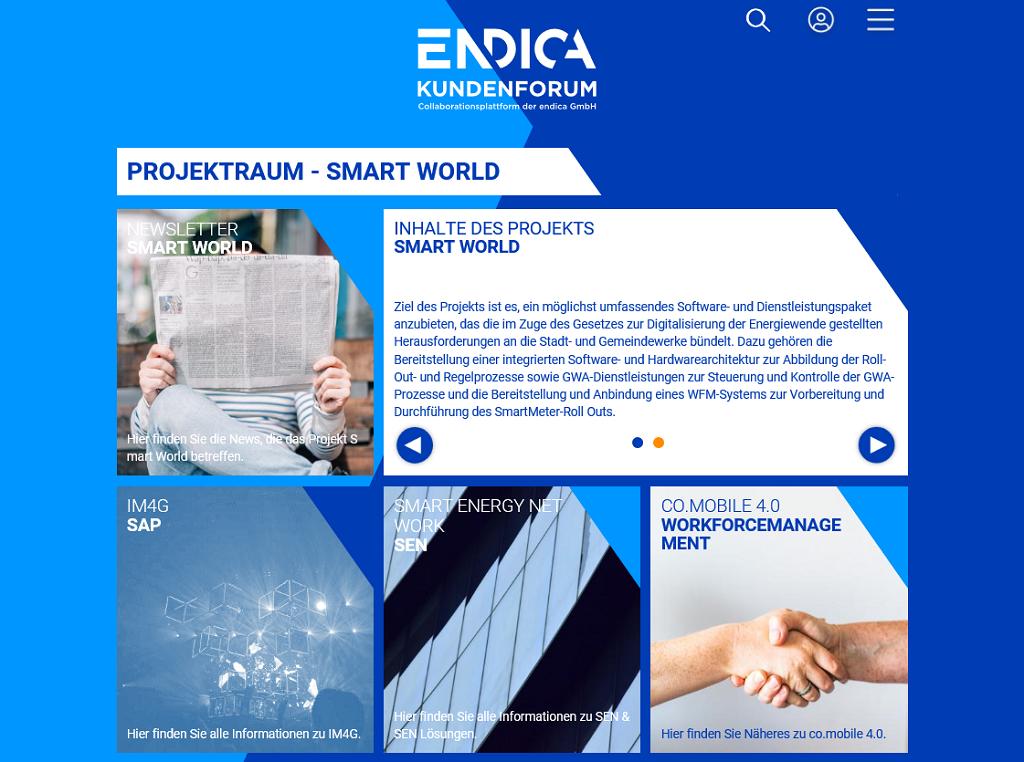 endica Rollout intelligente Messsysteme